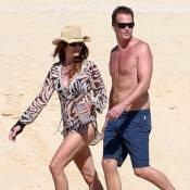 Cindy Crawford : Une sirène sur la plage avec la belle Stacy Keibler