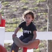 Jennifer Lopez et Marc Anthony: Leur petit Max est un sacré casse-cou capricieux