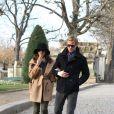 Eva Mendes et Ryan Gosling à Paris, le 26 novembre 2011.