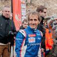 Alain Prost le 7 janvier 2012 à Isola 2000