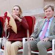 Les royaux néerlandais en visite officielle à Oman le 11 janvier 2012. Sohar et Fort Nakhal étaient au programme.