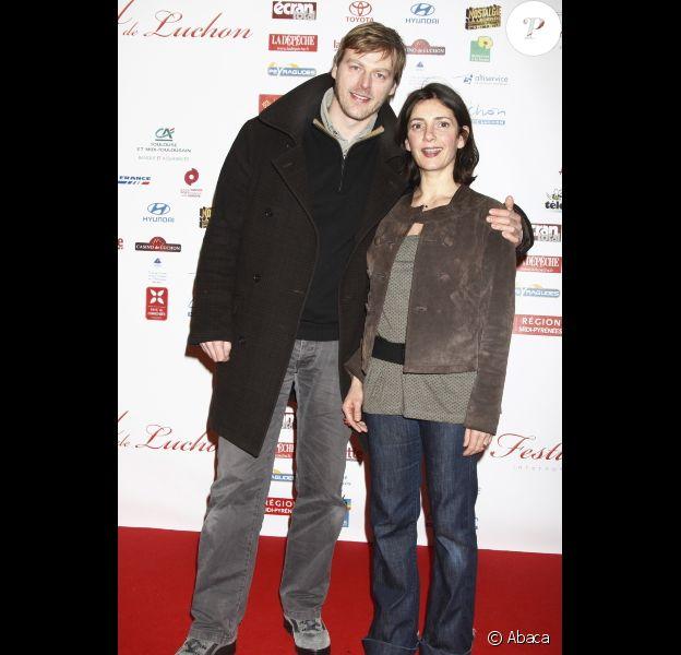 Valérie Karsenti et François Ferolato en février 2009 à Luchon