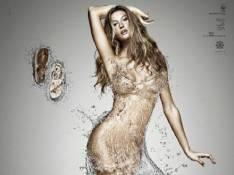 PHOTO : Gisele Bundchen vêtue d'eau... et rien d'autre !