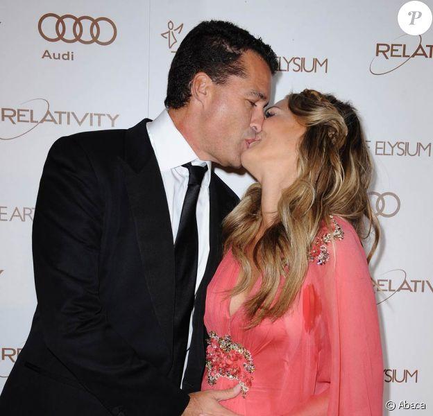 Molly Sims et son époux Scott lors de l'Art of Elysium Heaven Gala, le samedi 14 janvier 2012.