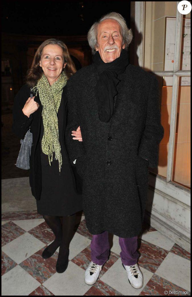 Jean rochefort et sa femme paris le 21 novembre 2011 - Jean francois balmer et sa femme ...