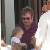 Elton John et David Furnish : Vacances hawaïennes avec leur adorable Zachary