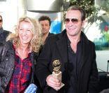 Jean Dujardin et son Alexandra  : Après les Golden Globes, les éclats de rire !