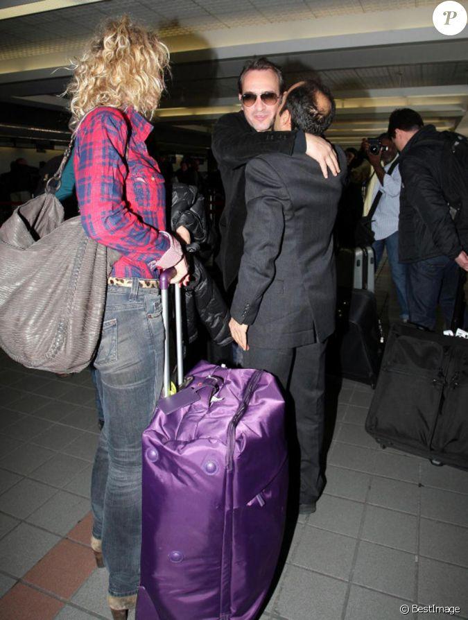 Jean dujardin et sa femme ch rie alexandra lamy l for La copine de jean dujardin
