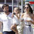 Jamie Mazur, Alessandra Ambrosio et leur fille Anja