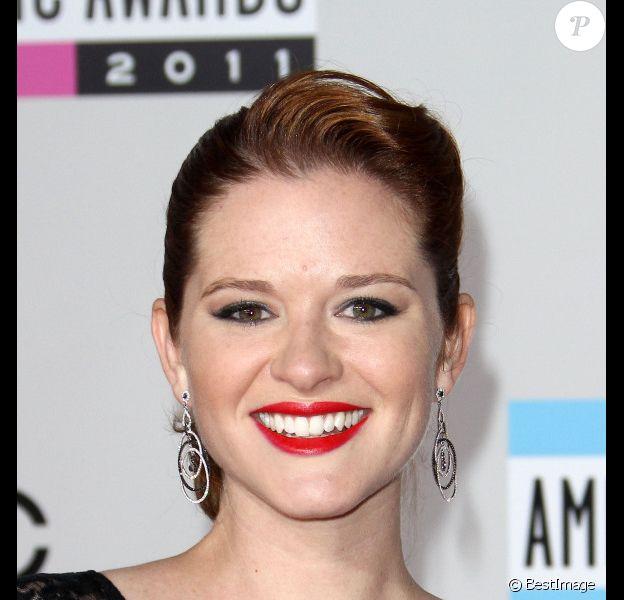 Sarah Drew (Grey's Anatomy) à Los Angeles en novembre 2011