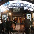 Avant-première de  Sherlock Holmes :   Jeux d'ombres  à Paris, le 19 janvier 2011.
