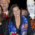 La princesse Stéphanie de Monaco lors du 36e Festival International du cirque de Monte-Carlo à Monaco le 20 janvier 2012