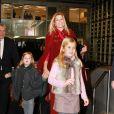 Le prince Willem-Alexander et la princesse Maxima des Pays-Bas assistaient le 21 janvier 2012 au Jumping international d'Amsterdam avec leurs trois filles, les princesses Catharina-Amalia, Alexia et Ariane.