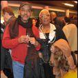 Lors de la projection privée du téléfilm Toussaint Louverture, à Paris, le 18 janvier 2012