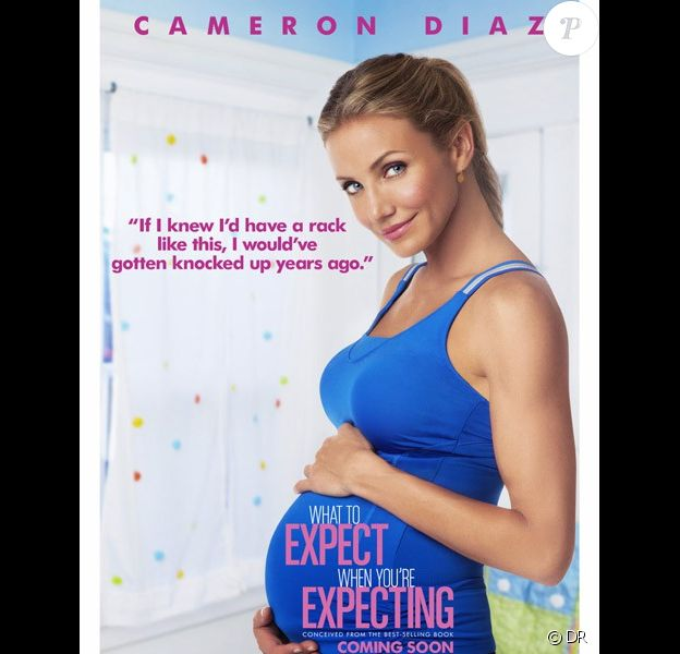 Cameron Diaz dans What to Expect When You're Expecting.