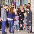 Née le 24 janvier 2012 à 8h27 au Rigshospitalet de Copenhague, la petite princesse de la princesse Marie et du prince Joachim de Danemark a quitté la maternité le 27 janvier à 11h08 pour rejoindre le domicile familial, non sans faire un passage obligé devant des médias en liesse.
