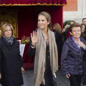 L'infante Elena d'Espagne, en deuil et furieuse, se cache et lâche ses enfants