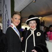Geneviève de Fontenay et Miss Prestige National s'offrent un dimanche hippique