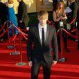 Chord Overstreet aux Screen Actors Guild Awards à Los Angeles, le 29 janvier 2012.