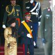 Le couple grand-ducal de Luxembourg au mariage de Willem-Alexander et Maxima des Pays-Bas.   Le prince Willem-Alexander des Pays-Bas et la princesse Maxima se sont mariés le 2 février 2002 à Amsterdam. Le 2 février 2012, ils célébraient leurs noces d'étain.