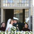 Les larmes de Maxima en la Nouvelle Eglise d'Amsterdam, à l'écoute de l'air argentin Adios Nonino, par Le prince Willem-Alexander des Pays-Bas et la princesse Maxima se sont  mariés le 2 février 2002 à Amsterdam. Le 2 février 2012, ils célébraient  leurs noces d'étain.