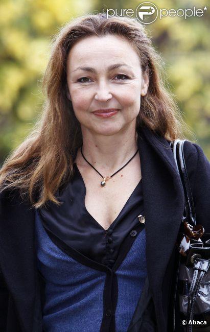 Catherine Frot le 12 novembre 2009 au Festival de Sarlat
