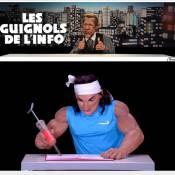 Rafael Nadal, le plein de dopage chez les Guignols de l'info : Canal+ récidive