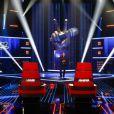 Les premières images de The Voice : la plus belle voix animé par Nikos