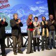 La soirée d'ouverture du Festival de Luchon, à Luchon, le 8 février 2012