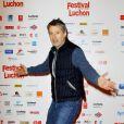 Antoine de Caunes lors du 14ème Festival de Luchon, le 9 février 2012
