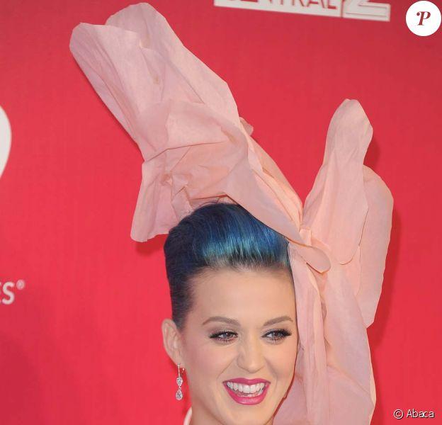 Katy Perry, sublime en Alexis Mabille, au gala MusiCares qui honorait Paul McCartney à Los Angeles, le 10 février 2012.