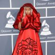 Nicki Minaj sur le tapis rouge de la 54e soirée des Grammy Awards, le 12 février 2012 au Staples Center de Los Angeles.