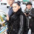 Jessie J prend un taxi à Los Angeles, le mercredi 15 février 2012.