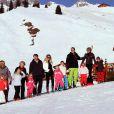 La famille royale des Pays-Bas en vacances dans la station autrichienne de Lech en février 2011. Le 17 février 2012, le prince Friso a été pris dans une avalanche et transporté en soins intensifs à Innsbruck.