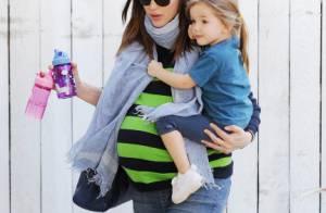 Jennifer Garner, très enceinte : Seraphina découvre l'iPad, Violet fait son show
