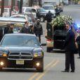 Obsèques de Whitney Houston à Newark, le 18 février 2012.