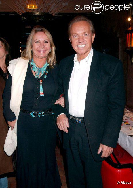 Frank Alamo et sa femme Claudy le 1er décembre 2005 à Paris