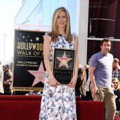 Jennifer Aniston étoilée devant Justin Theroux et chambrée par Adam Sandler