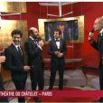 Alice Taglioni, Tahar Rahim, Kad Merad et Guillaume Canet arrivant à la cérémonie des César 2012 le 24 février 2012