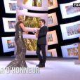 Kate Winslet reçoit des mains de Michel Gondry un César d'honneur 24 février 2012