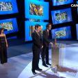 L'équipe du film L'Accordeur recevant le César du meilleur court-métrage - 24 février 2012