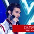 Flo dans The Voice, samedi 25 février sur TF1