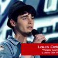 Prestation de Louis dans The Voice, samedi 25 février 2012 sur TF1