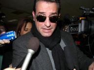 Oscars 2012 : Jean Dujardin débarque à Los Angeles et reçoit un nouveau trophée