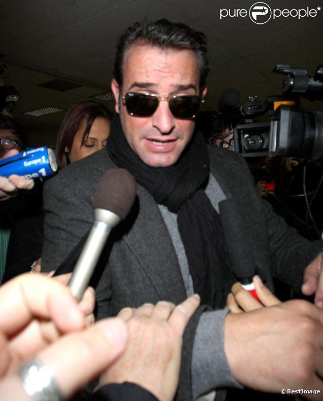 Oscars 2012 jean dujardin d barque los angeles et for La copine de jean dujardin