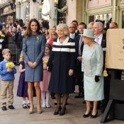 Kate Middleton divine en Missoni avec la reine Elizabeth et Camilla à Piccadilly