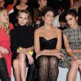 Premier rang du défilé Dior à Paris le 2 mars 2012