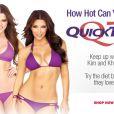 Kim et Khloe Kardashian pour QuickTrim.