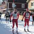 Le prince Frederik de Danemark, 43 ans, a disputé la Vasaloppet, la plus  longue (90 km) course de ski de fond au monde, dimanche 4 mars 2012  dans la région de Dalarna, en Suède : il a terminé 5531e sur 15 800  partants dont 14 072 hommes, en 6h36'32''.