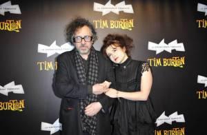 Tim Burton et Helena Bonham Carter : couple décalé pour soirée excentrique